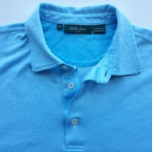 Bobby Jones Golf Cotton Polo Shirt Mens Size L